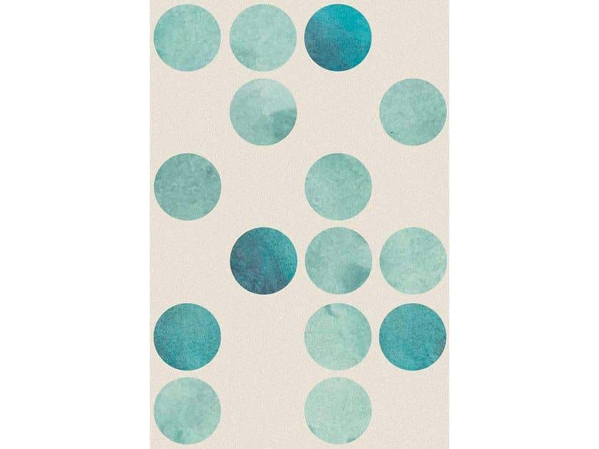 Broadloom printed carpet CIRCLES by Miyabi casa