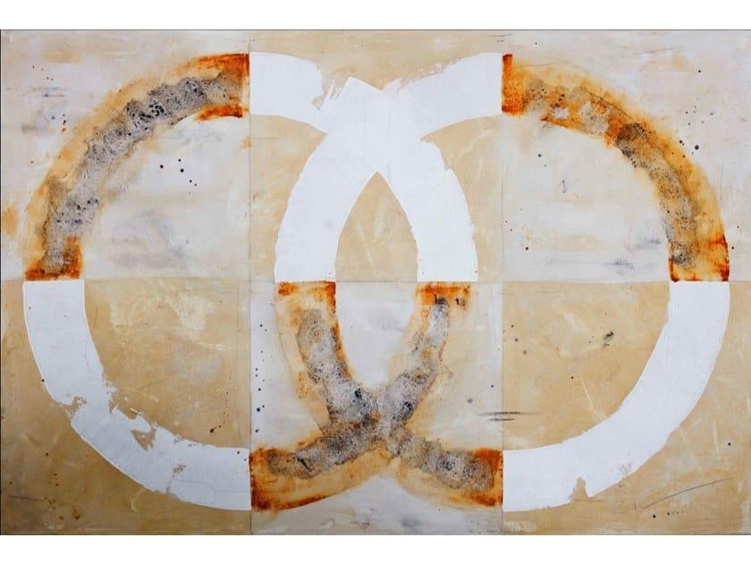 Canvas Painting Círculo IV by NOVOCUADRO ART COMPANY