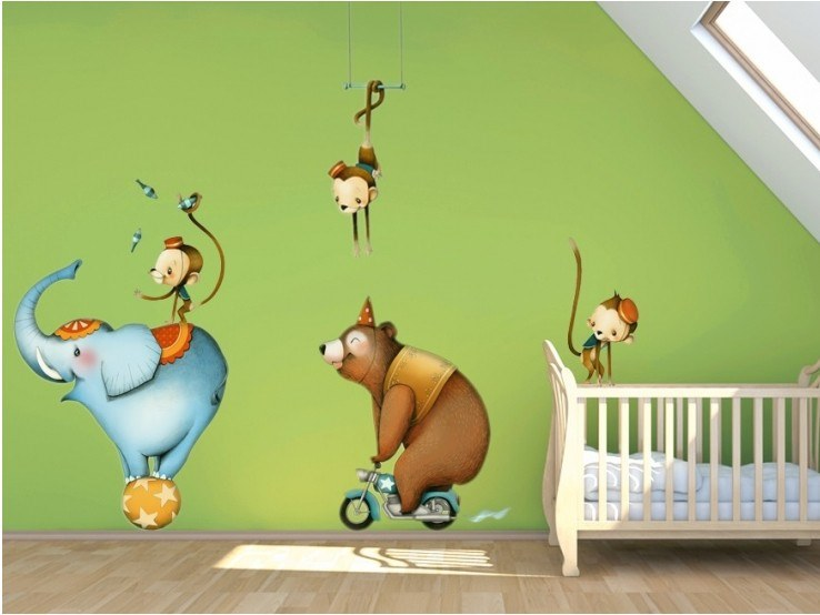 Kids wall sticker CIRCUS 1 by ACTE-DECO