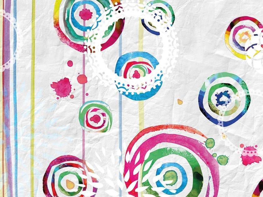 Motif wallpaper CIRCUS by Adriani e Rossi edizioni