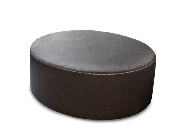Upholstered pouf CIRCUS by Bolzan Letti