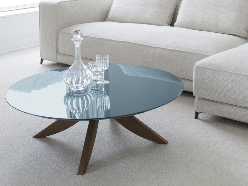 Round MDF coffee table for living room CIRCUS | Coffee table for living room by BertO