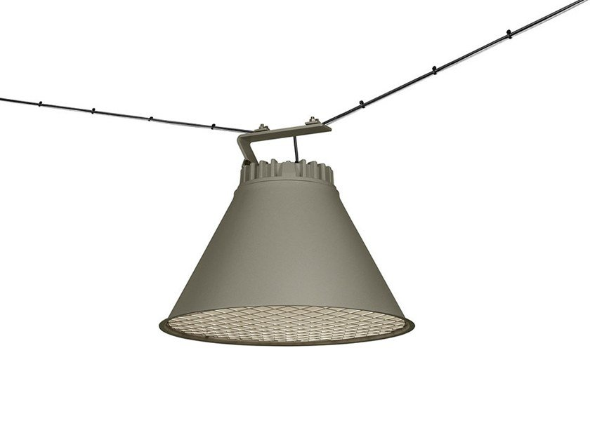 Cable-mounted aluminium pendant lamp CITY | Cable-mounted pendant lamp by ZERO