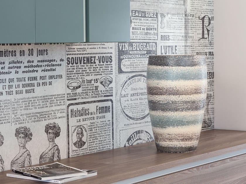 Ceramic vase CITY by Pot à Porter