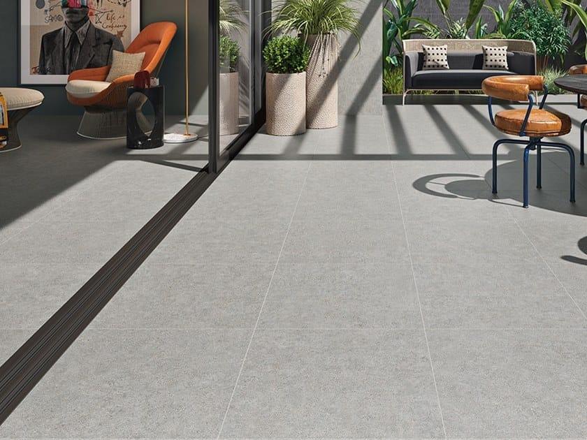 Indoor/outdoor wall/floor tiles with concrete effect CITYZEN by Revigrés
