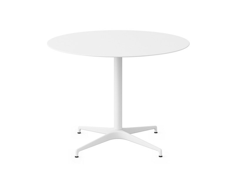 Round table with 4-star base CIVIC | Round table by Herman Miller