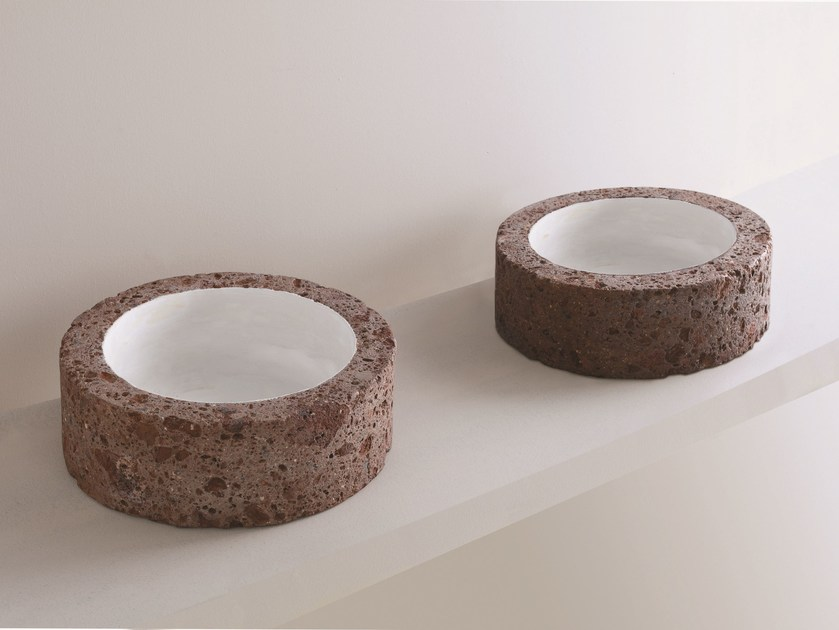 Countertop round washbasin CIVITA | Round washbasin by AZZURRA sanitari