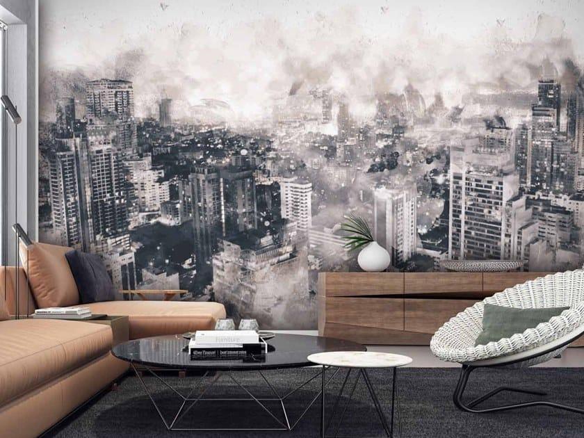 Digital printing landscape wallpaper CIVITAS by LGD01