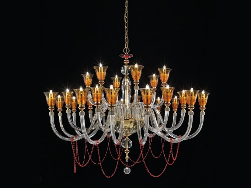 Chandelier with Swarovski® Crystals CLAIRE L12+6+6 by Euroluce Lampadari