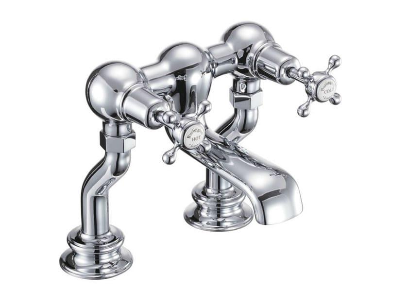 2 hole chromed brass bathtub tap with aerator CLAREMONT REGENT   2 hole bathtub tap by Polo