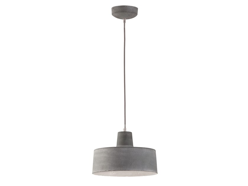 Direct light steel pendant lamp CLARK 1 by Terzo Light