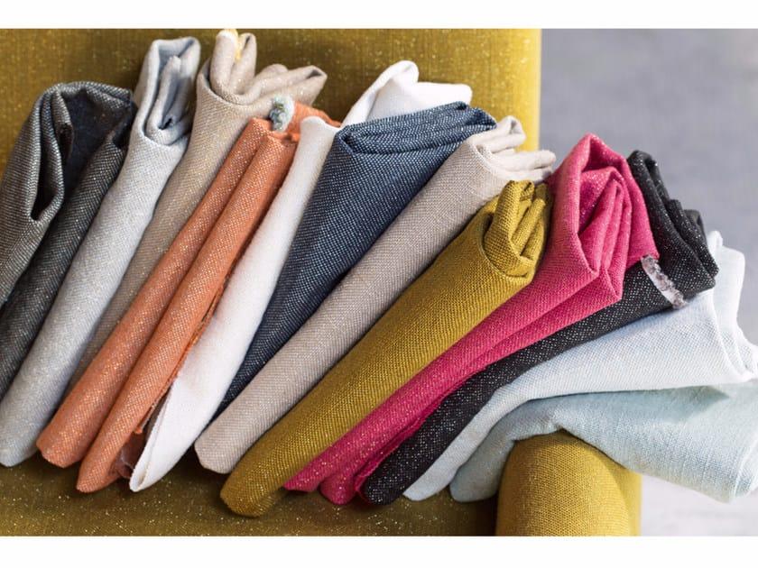 Solid-color washable linen fabric CLARO by Élitis