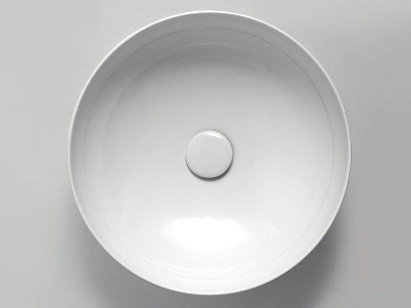 Countertop round washbasin CLAS+ | Round washbasin by AZZURRA sanitari