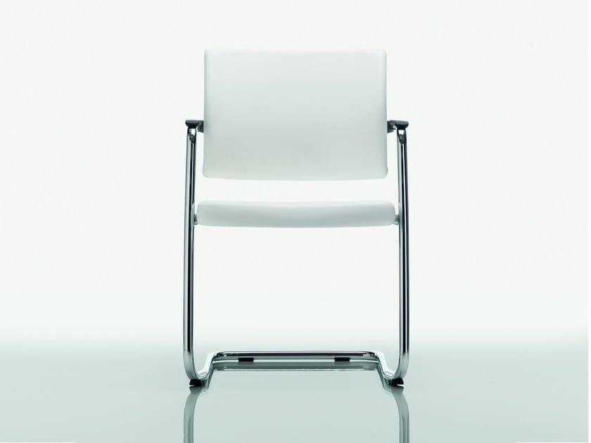 Cantilever polypropylene chair CLASSE | Polypropylene chair by Quadrifoglio