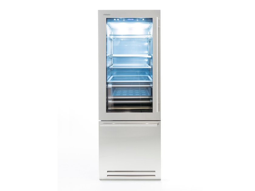 Refrigerator with freezer CLASSIC 75 | Refrigerator with glass door by FHIABA
