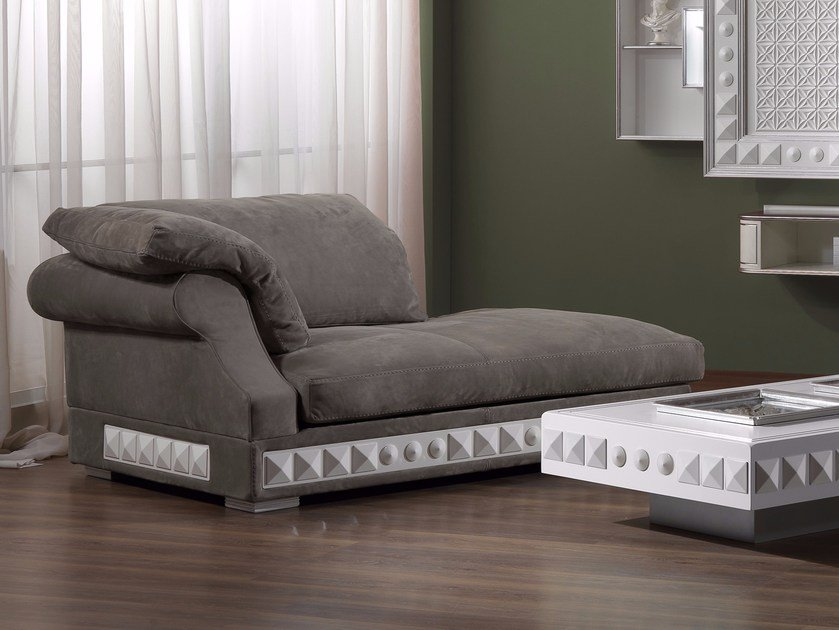 Leather day bed CLASSIC COMFORT NOUVEAU | Day bed by Vismara Design