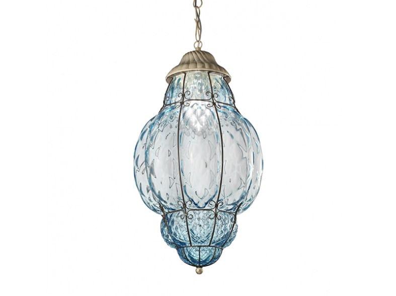 Di Sospensione Per In Esterno Fatta Mano 101 Lampada Siru Vetro Es A Classic Murano 3j54ARL