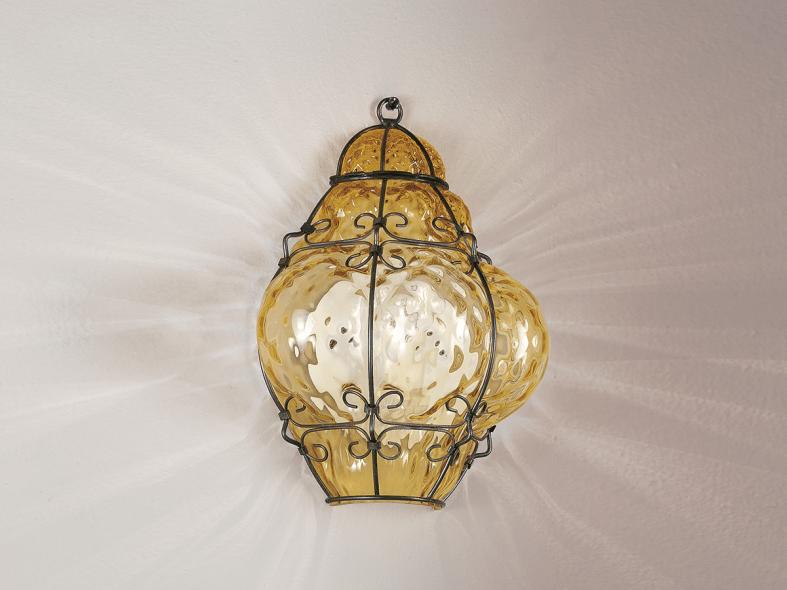 Applique in vetro di murano classic ma collezione classic