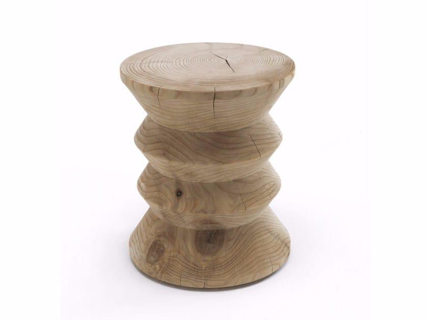 Cedarwood stool CLASSIC by Riva 1920
