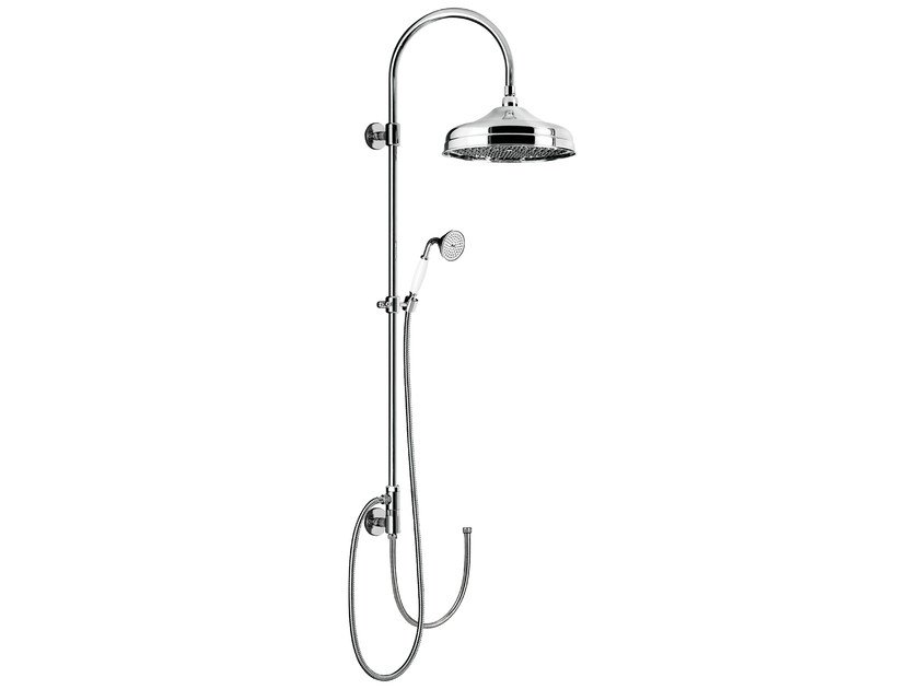 Wall-mounted shower panel with hand shower CLASSIC SHOWERS - 1455273 by Fir Italia