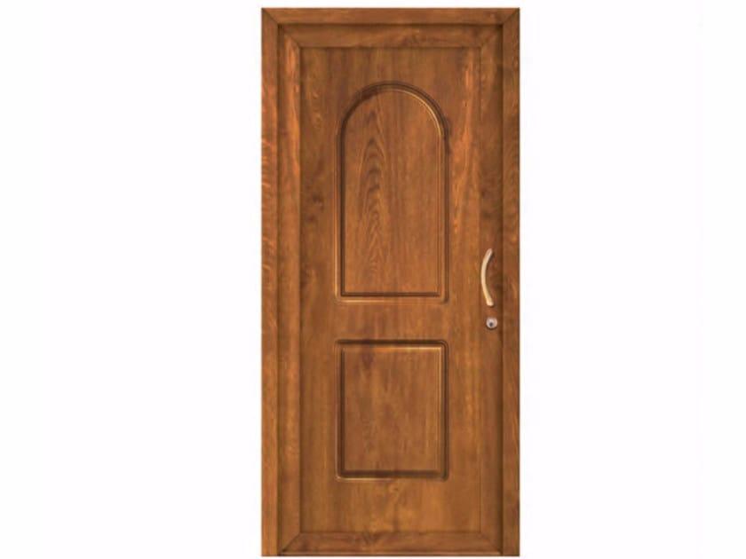 Exterior custom PVC entry door CLASSIC SEVILLE by FOSSATI PVC