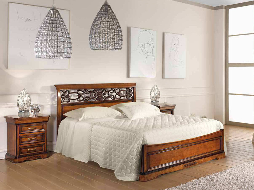 Solid wood double bed EXCLUSIVE | Double bed by Arvestyle