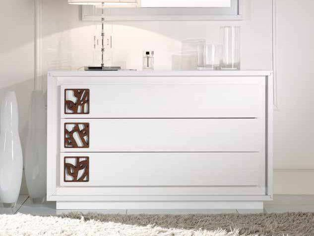 Solid wood chest of drawers PRIMA CLASSE | Chest of drawers by Arvestyle