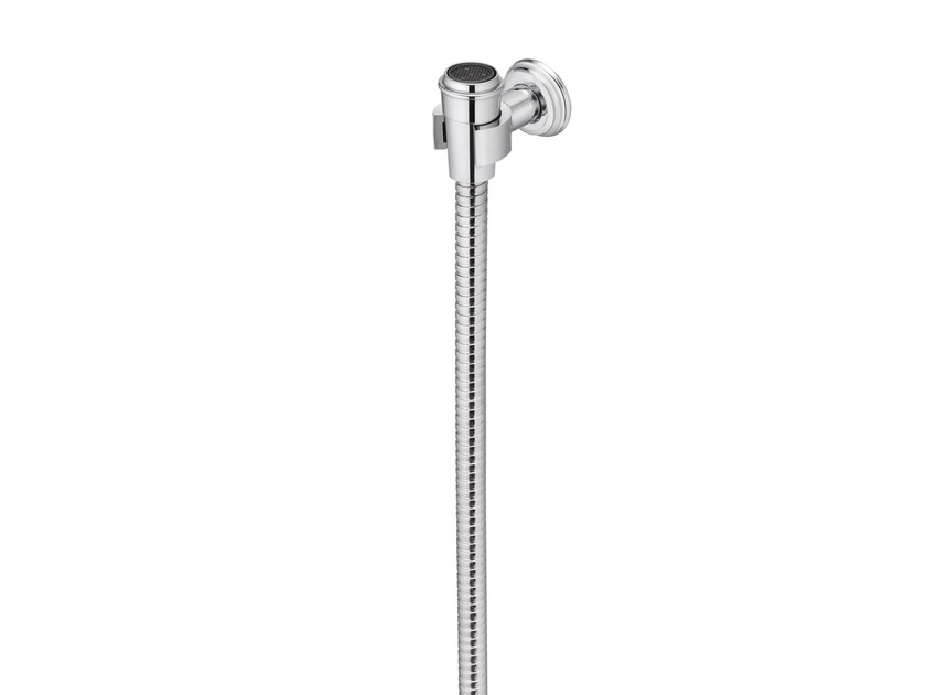 Sprayer with hose & fixed wall bracket CLASSIK | Handshower with bracket by JUSTIME