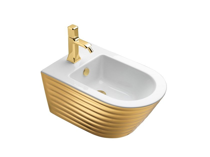 Wall-hung bidet with overflow CLASSY | Bidet by CERAMICA CATALANO