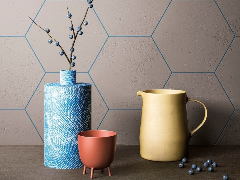Porcelain stoneware wall/floor tiles CLAY by GranitiFiandre