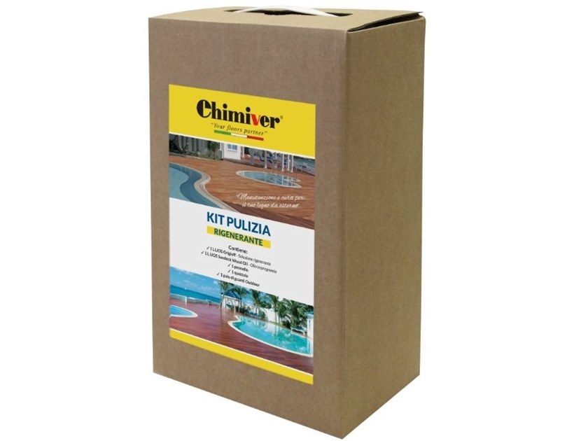Wood treatment CLEANING KIT - RESTORING by Chimiver Panseri