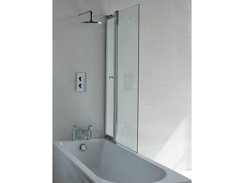 Glass bathtub wall panel CLEARGREEN - BS3 by Polo