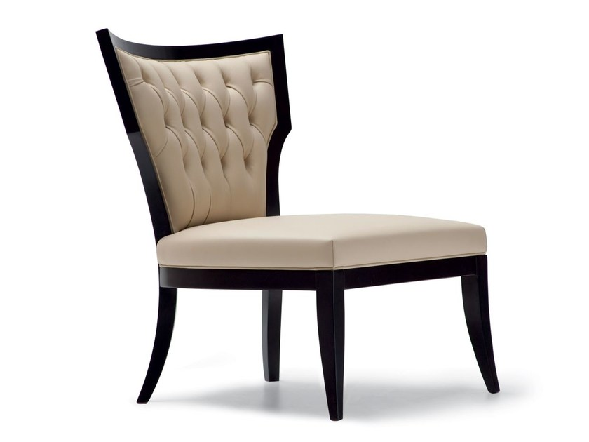 Tufted leather armchair CLEOPATRA | Armchair by OPERA CONTEMPORARY