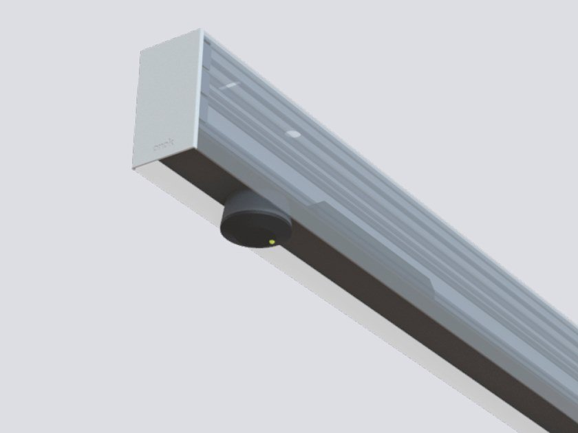 Ceiling mounted Linear lighting profile for LED modules CLICK KIT BLUETOOTH by ONOK Lighting