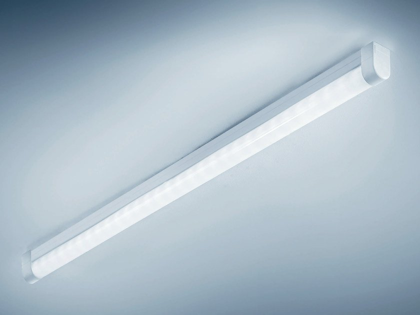 LED polycarbonate ceiling lamp CLICK by PLEXIFORM