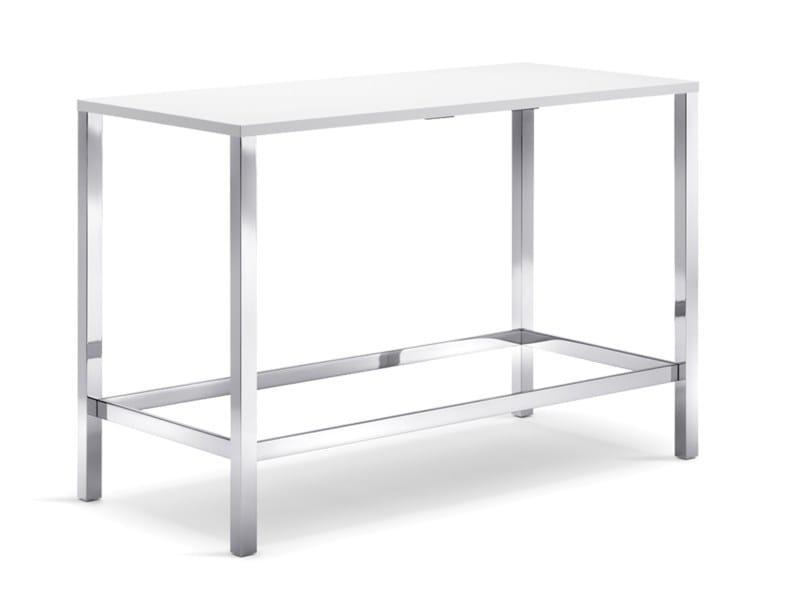 Tavolo alto rettangolare per contract CLIENT | Tavolo alto by Wiesner-Hager