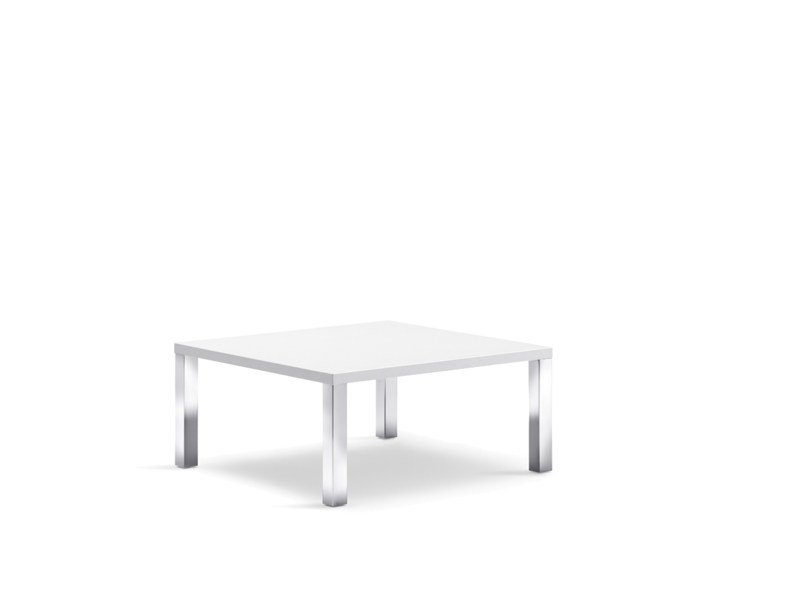 Square bistro side table CLIENT | Square coffee table by Wiesner-Hager