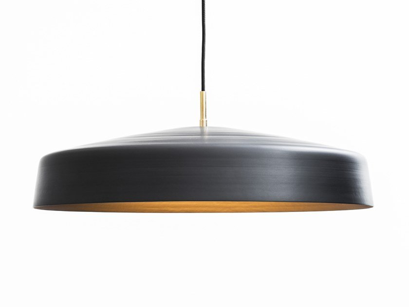 LED direct light pendant lamp CLIFF DÔME by Lambert & Fils