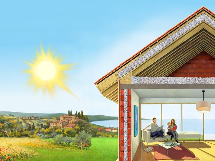 Sistema per isolamento a cappotto CLIMACELL® - Isolamento falde del tetto by Climacell