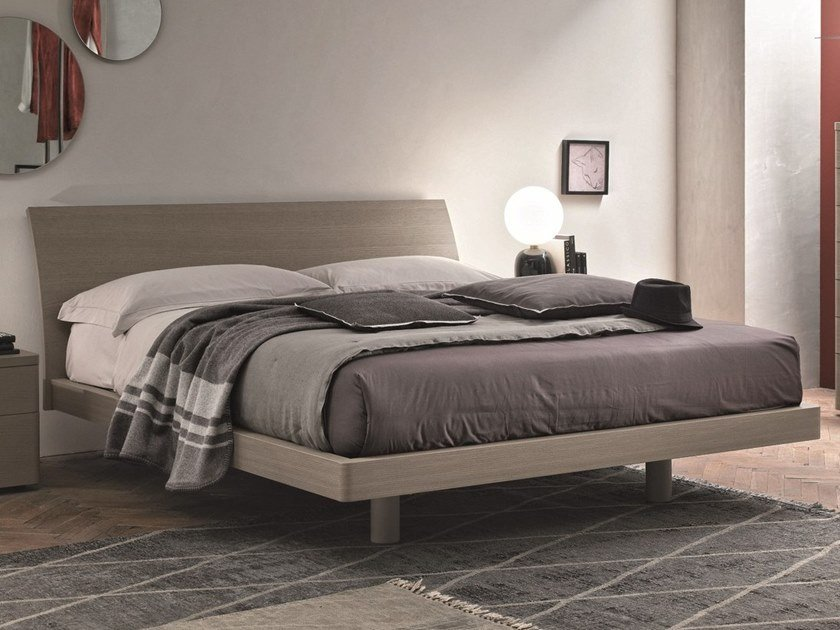 Wooden double bed CLIO | Wooden bed by Gruppo Tomasella