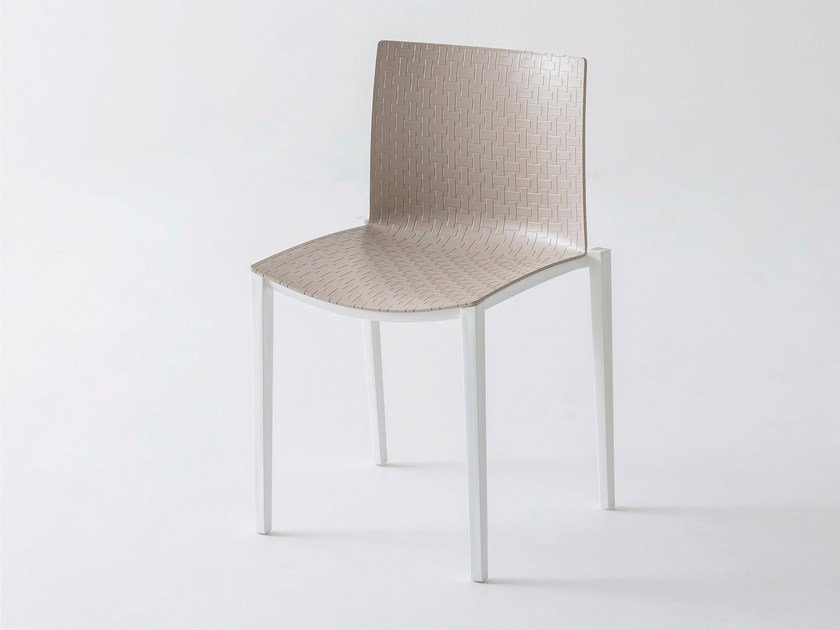 Stackable technopolymer chair CLIPPERTON by GABER