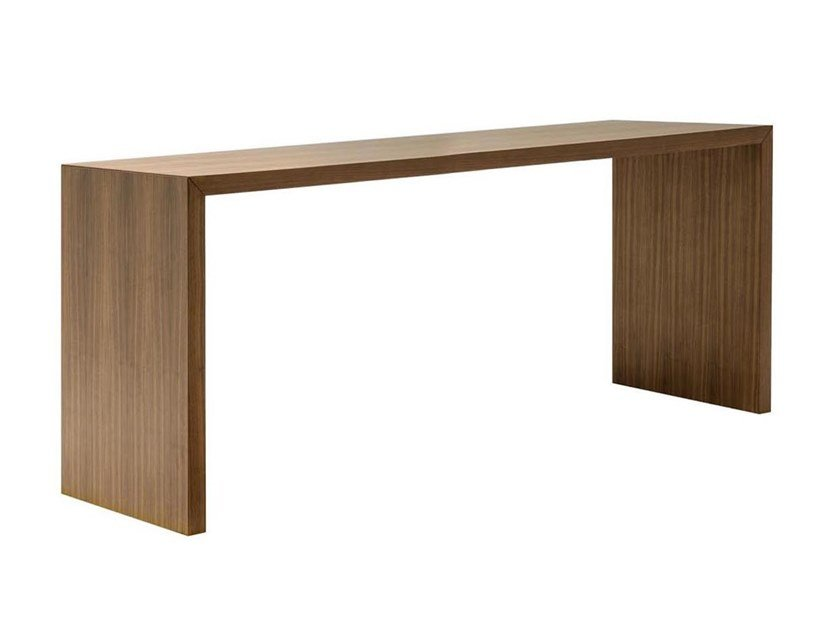 Solid wood High meeting table CLOSED ME6188 by Andreu World