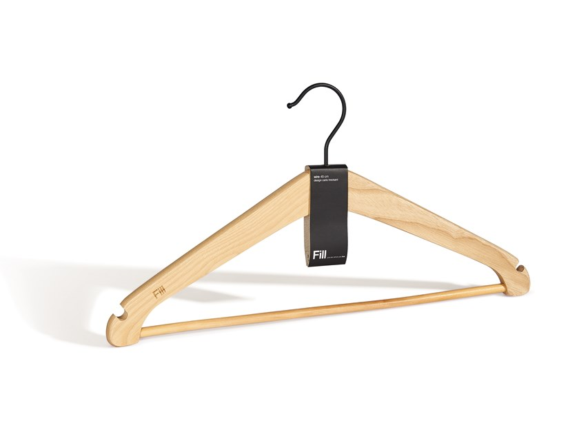 Ash clothes hanger WIRE | Clothes hanger by Fill