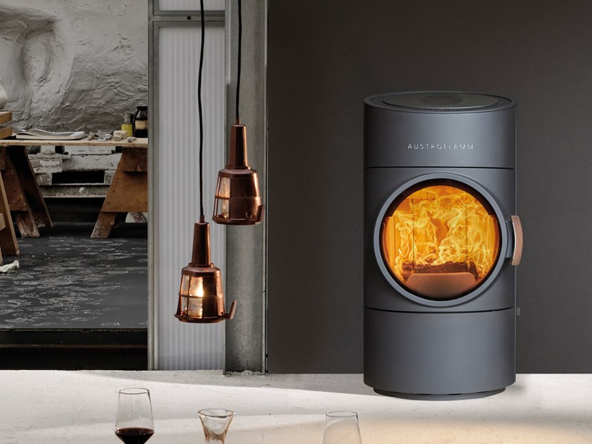 Wood-burning stove CLOU COMPACT by Austroflamm