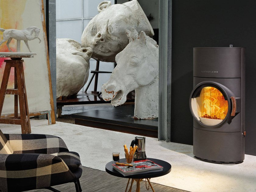 Wood-burning stove CLOU XTRA by Austroflamm