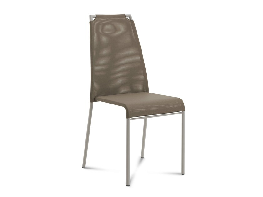 Stackable high-back chair CLOUD-A by DOMITALIA