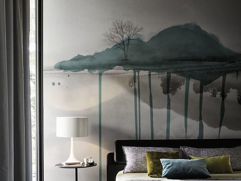 Landscape wallpaper CLOUD BRUSH by Wall&decò