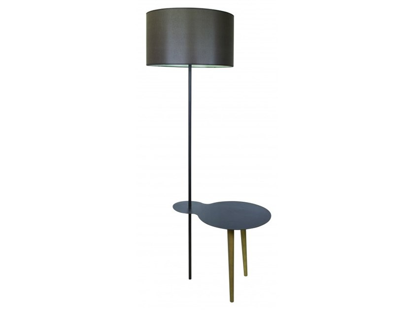 Floor lamp with shelf CLOUD by Flam & Luce