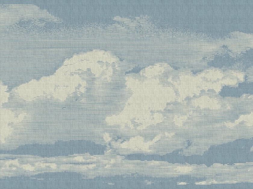 Digital printing wallpaper CLOUDS by Architects Paper