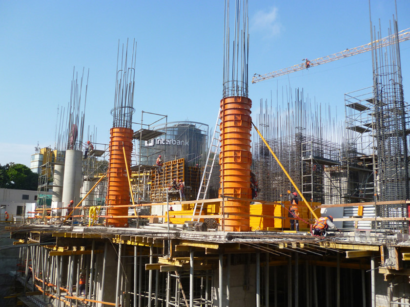 Circular column formwork CLR by ULMA Construction